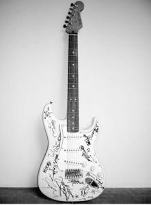 La guitarra eléctrica más cara del mundo
