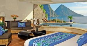 Jade Mountain Hotel, St Lucia