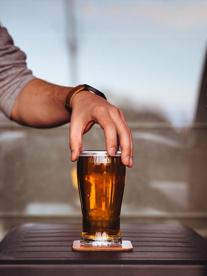La cerveza es la mejor opción