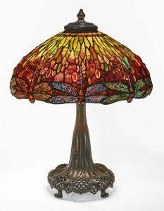 lampara mas cara del mundo Dragonfly-Tiffany