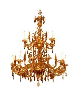 lampara mas cara del mundo-Salviati-Chandelier-