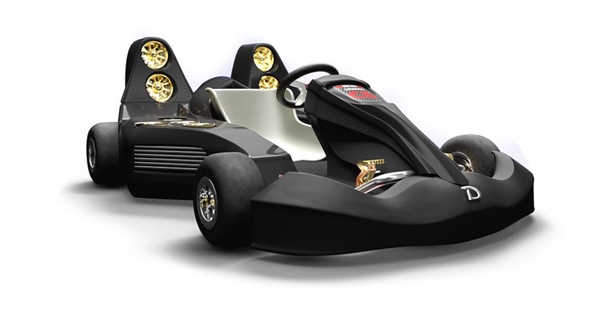 c5 blast ultimate kart mas caro del mundo