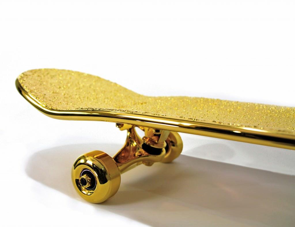 tabla skate mas cara del mundo oro (3)